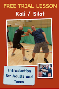 Adult Kali/Silat Free Trial Lesson